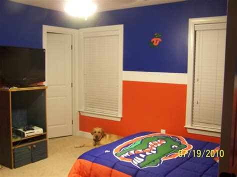 orange and blue room blue and orange room designs florida gators room boys