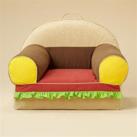 hamburger bed hamburger chair