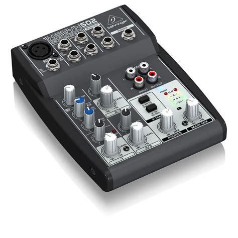 Mixer Xenyx 502 behringer xenyx 502 mixer at gear4music