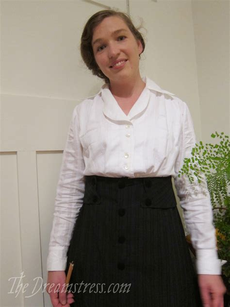 Blouse By Elsire review the wearing history 1910 s elsie blouse the dreamstress