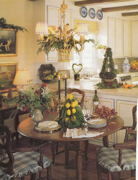 hydrangea hill cottage holiday dining