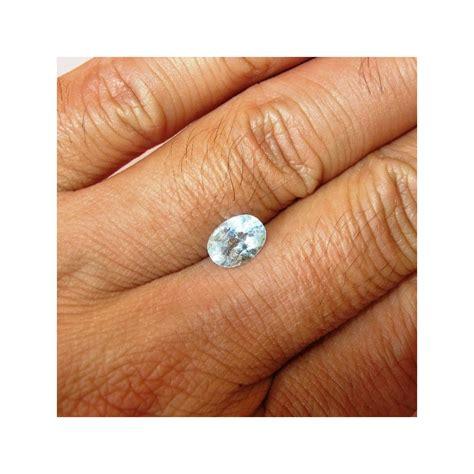 Batu Blue Topaz 4 50 Karat jual batu mulia topaz warna biru terang 1 50 carat