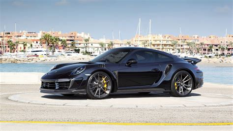 Porsche Carbon by Tuner Strips Its Carbon Fiber Body For Porsche 911 Turbo