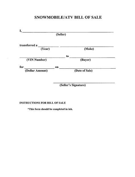 bill of sale form car aplication format firearm samples gun