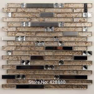 buy glass tile sheet square mosaic design