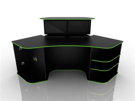computer desk gaming best gaming desk