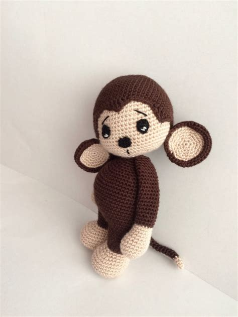 Pattern Amigurumi Cute | crochet pattern cute monkey amigurumi pdf iremdesign