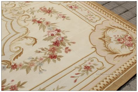 8 x10 shabby chic aubusson area rug country home