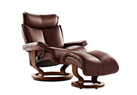 stressless recliners best prices buy stressless magic large chair stool batick online