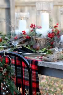 Christmas Table Settings by 24 Inspiring Rustic Christmas Table Settings Digsdigs