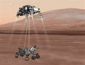 mars curiosity rover landing animation pics about space