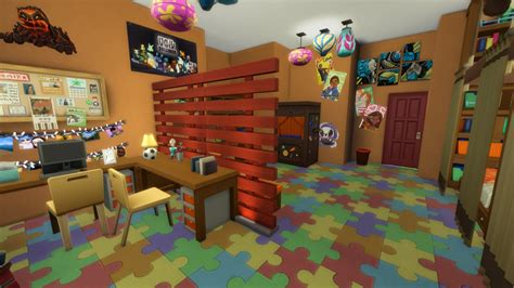 action packed kids rooms the sims 4 kids room stuff pack building children room