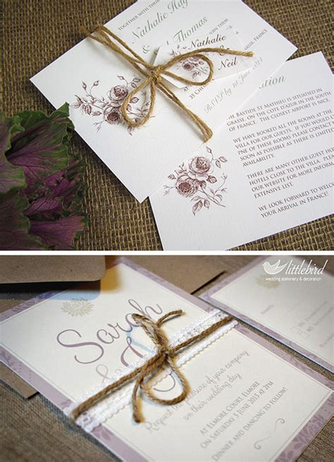 tying ribbon for wedding invitations the tie that binds ideas to tie your wedding invitation