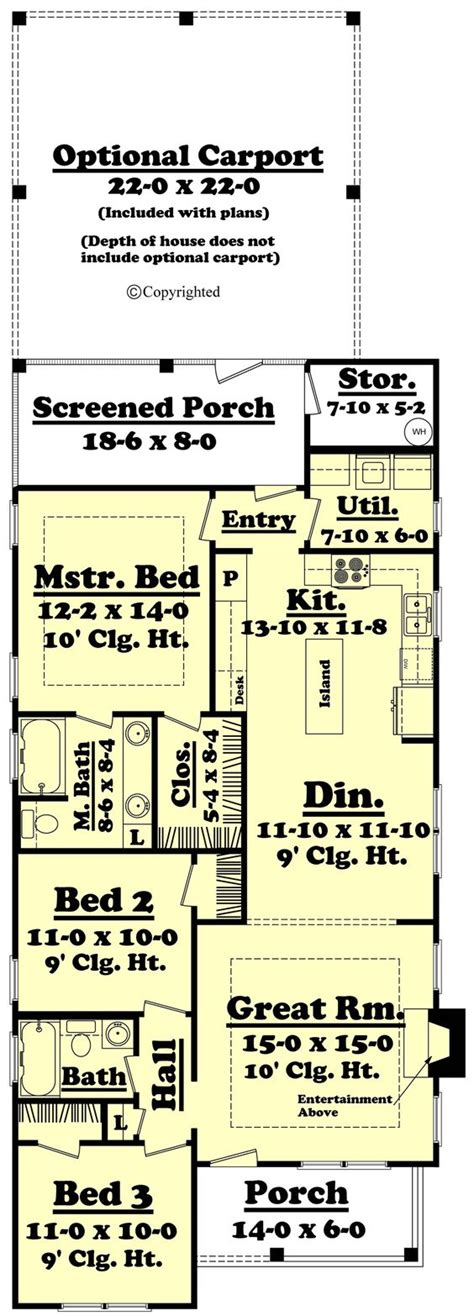 english cottage house plan with 1300 square feet and 3 small cottage style house plan 3 beds 2 baths 1300 sq ft