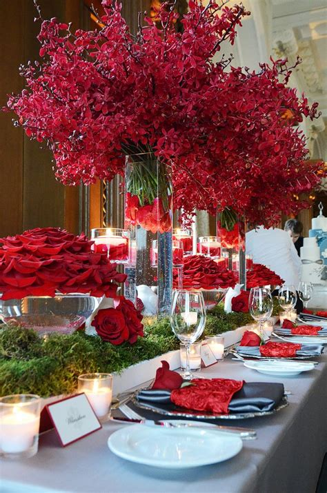44 xmas center pieces 2674 best images about wedding event table settings on receptions wedding events