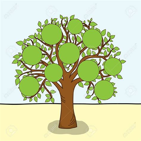 immagini clipart gratis family tree clipart clipart cliparts for you 2 clipartix