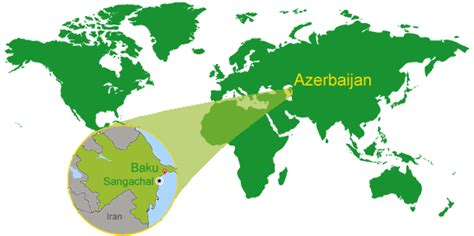 baku on world map baku azerbaijan in world map