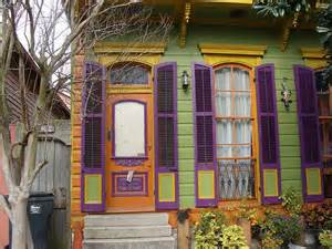 new orleans colorful houses uptown new orleans pinterest