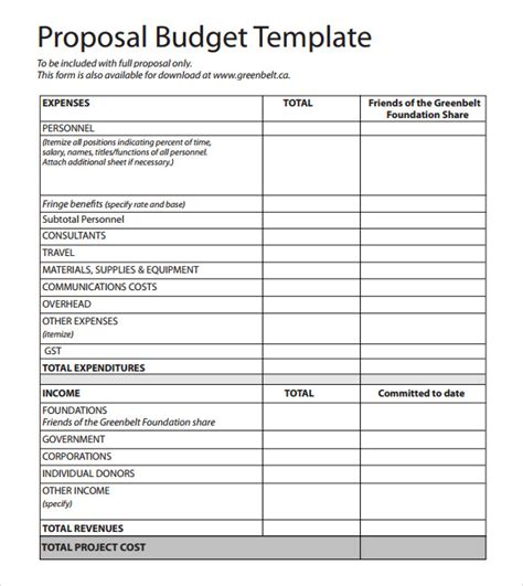 budget book template budgetary template template business