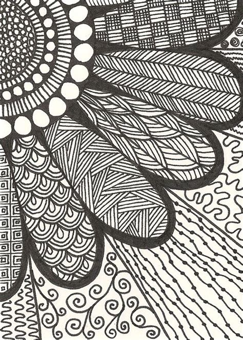 pattern drawing pictures zen doodles buscar con google zentangle pinterest
