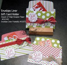 Make Your Own Gift Card Holder - 1000 images about su envelope liner thinlits on pinterest envelope liners gift