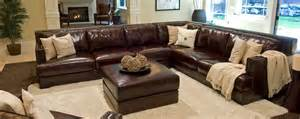 Large Sectional Sofas Oversized Leather Sectional Sofa Www Imgkid The Image Kid Has It