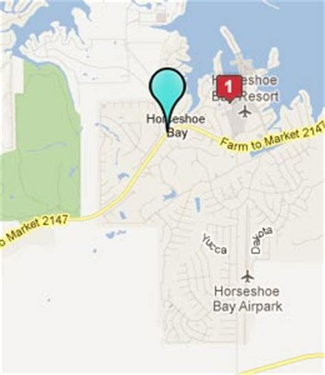 map of horseshoe bay texas horseshoe bay tx hotels motels see all discounts