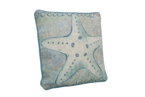 Nautical Pillows Wholesale by Wholesale Blue And White Starfish Decorative Throw Pillow