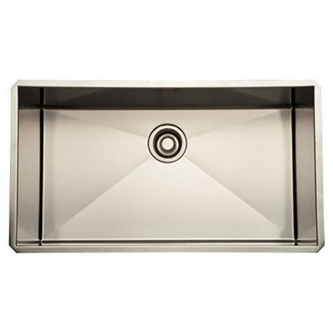 Rohl Italian Stainless Steel Single Bowl Kitchen Sink 30 Italian Kitchen Sinks