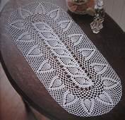 Caminos De Mesa En Crochet Patrones  Imagui