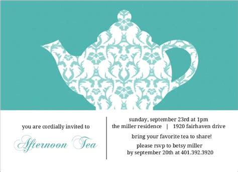 tea party invitation template also tea party printable invitations