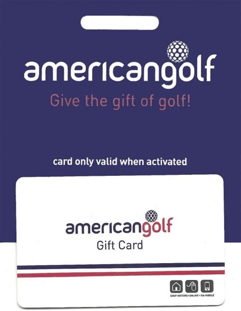 Golf Gift Cards - american golf gift card voucherline