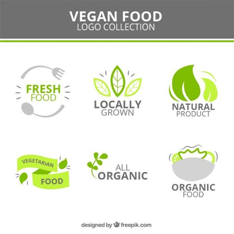 alimenti vegan logotipos vegan alimento bonito baixar vetores gr 225 tis