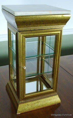 glass top curio table table top curio cabinet foter