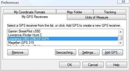 gps format converter excel here s how to transfer excel fishing waypoints to a