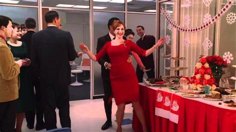 mad men christmas party dance youtube