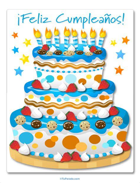 imagenes de cumpleaños tortas torta de cumple celeste im 225 genes de cumplea 241 os tarjetas