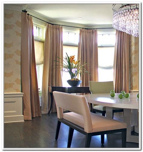 cheap bay window curtain rods 1000 ideas about window curtain rods on pinterest diy