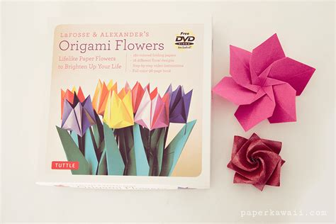 Origami Review - origami flowers by lafosse book review