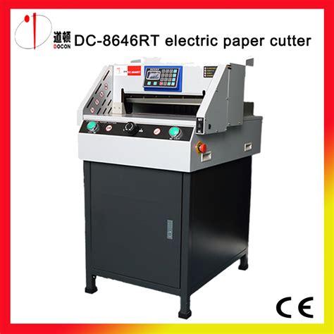 Mesin Potong Kertas Listrik kertas mesin pemotong beli murah kertas mesin pemotong