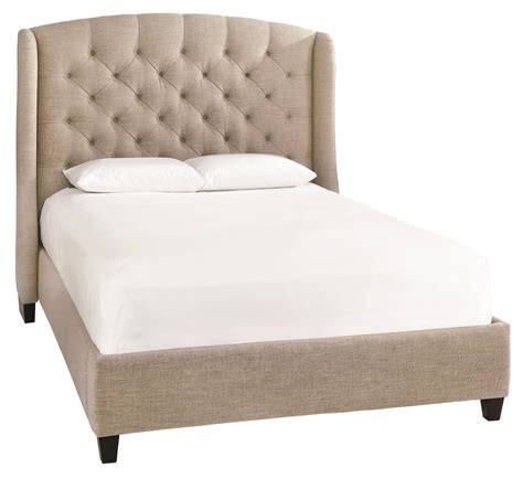 upholstered king beds bassett custom upholstered beds paris king size