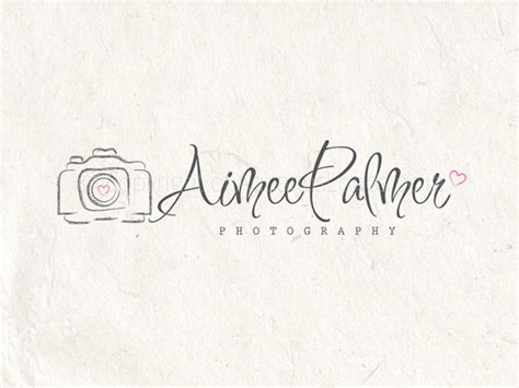 photoshop tutorial watermark logo premade photography logo design photography by