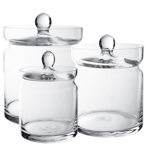 Wholesale Candy Buffet Apothecary Jars Set Of 3 Set Of Wholesale Buffet Jars