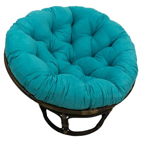 blazing needles microsuede papasan cushion papasan