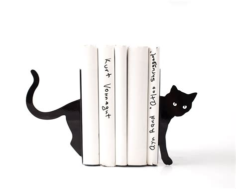 this is how it ends books decorative bookends cat and books functional decor modern