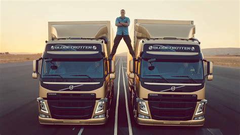 jean claude van damme   volvo trucks epic split