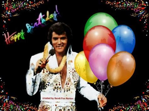 Elvis Birthday Cards Elvis Birthday Cards For Facebook Birthday Cards Art