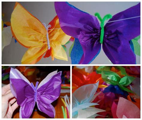 imagenes de mariposas hechas de papel hoy os traemos un tutorial de c 243 mo hacer una guirnalda de