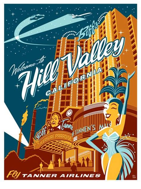hill valley design quot welcome to hill valley california quot by eric tan design