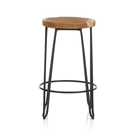 Stool Etymology by Origin Backless Counter Stool Metals Teak And Wood And